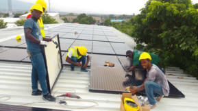 Гибридная солнечная электростанция на Гаити: Smart Solar Grid