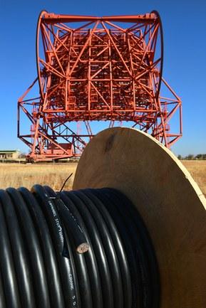 HESS-teleskopet förlitar sig på Lapp-kablar