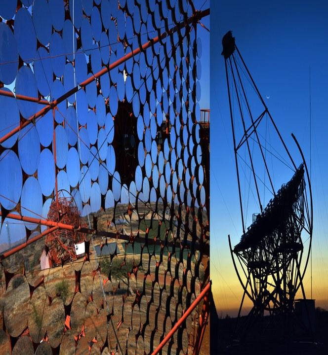 HESS-teleskopet forlader sig på Lapp-kabler