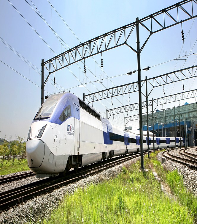 Höghastighetståget KoreaTrain eXpress (KTX)