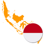 indonesia 300x300 Flag