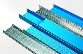 Kabelrännor i rostfri stålplåt från Miltronic