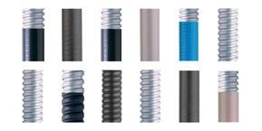 KOPEX® beskyttelsesslanger i metall kan bukes innen alle typer industri, ved ekstreme temperaturer og tøffe miljøer.