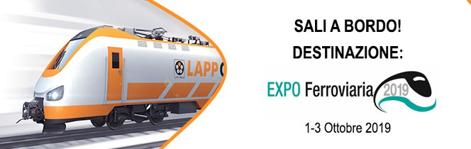 Lapp Italia partecipa a Expo Ferroviaria 2019