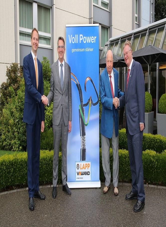 LAPP kjøper sveitsiske distribusjonspartneren Volland og etablerer en enda mer effektivt distribusjon til norske og europeiske kunder.