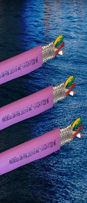 DNV-godkjent MARINEBus CAN FRNC til skip og marine applikasjoner