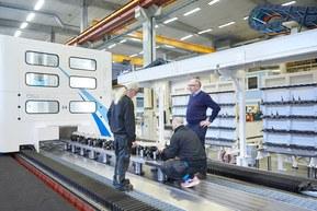 Stora och kraftfulla CNC-maskiner till den internationella flyg- och rymdindustrin