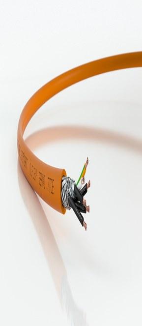 ÖLFLEX® SERVO 7TCE - TC- och ER-godkänd servomotorkabel för Nordamerika