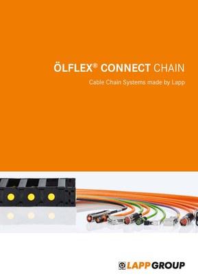 Catalogul Lapp ÖLFLEX CONNECT Chain oferă expertiză în lanțuri portcablu la îndemână