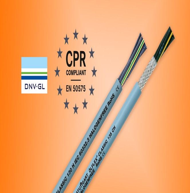 ÖLFLEX® CLASSIC 130 H/135 CH med forbedrede brannegenskaper