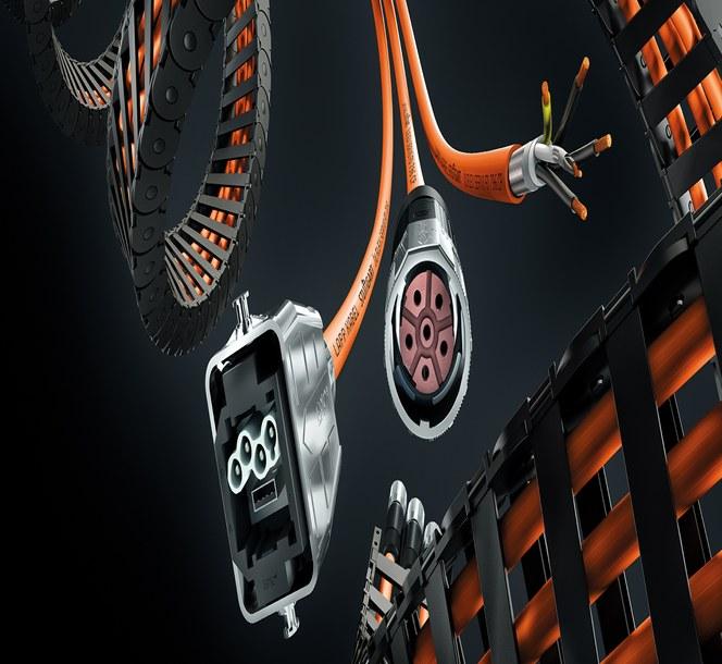 ÖLFLEX® CONNECT kablage, kapslingar och spiralkabel