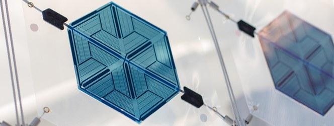 Innovativ anslutning till organiska solcellmoduler