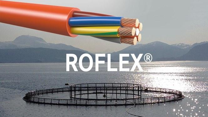 ROFLEX® PUR kabel er meget robust og overlegen i bruk i hardføre og våte miljøer.
