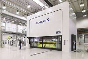 Presses and press lines from Schuler deliver especially high output