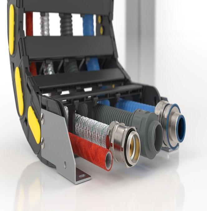 SILVYN® kabelbeskyttelse gir kabler en robust beskyttelse mot støv, fuktighet, termisk, kjemisk og mekanisk påkjenning innen alle typer industri.