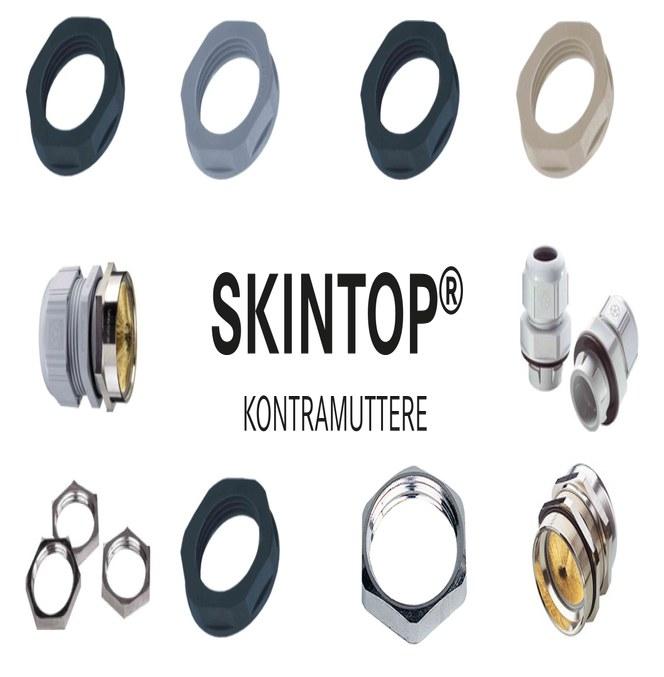 SKINTOP® kontramutter og nipler fra Lapp
