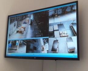 Система видеонаблюдения на складе логистического центра LAPP