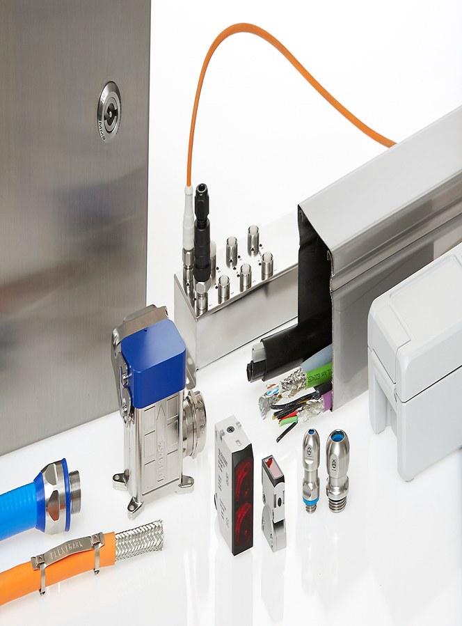 Kabel- och elkomponenter för livsmedelsindustrins högt ställda krav