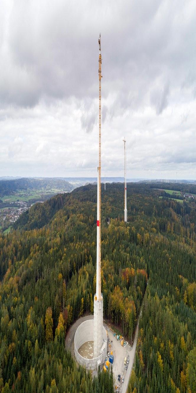 Lapp kabler driver verdens mest innovative og høyeste vindmølletårn Gaildorf Natural Energy Storage