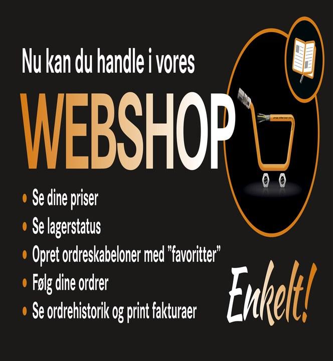 LAPP Danmarks webshop giver mange muligheder