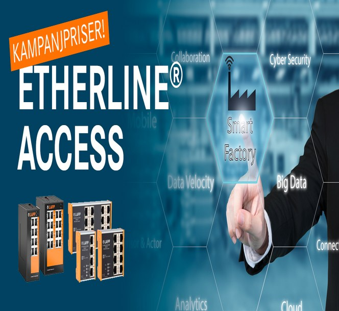 Kampanjpriser på ETHERLINE® ACCESS unmanaged och managed switchar