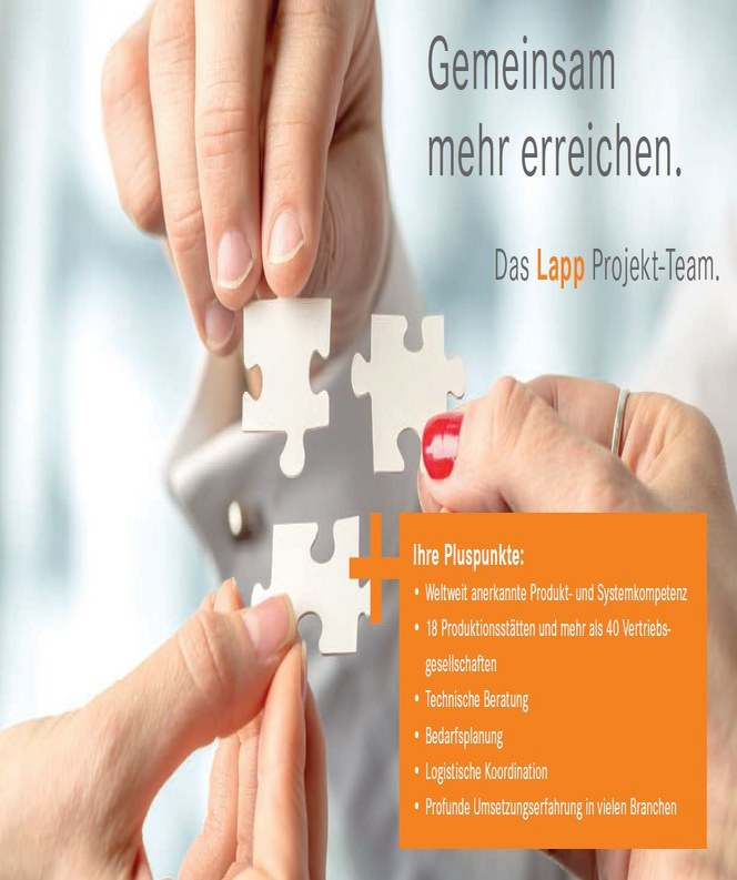 CREATE NETWORKS – Project business by LAPP