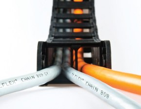 Буксируемые кабельные цепи SILVYN® CHAIN. Сверхгибкие кабели Lapp.