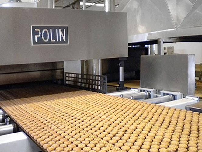 Polin производит самое мощное в мире оборудование для производства печенья и хлеба.