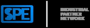 spe logo blau grau