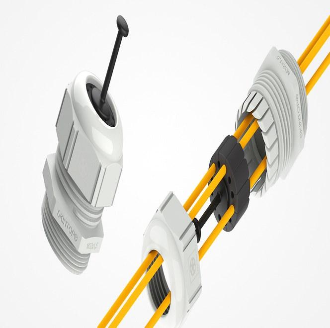 SKINTOP® FIBER – unik förskruvning för fiberkabel