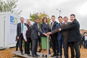 Контейнерная систем аккумуляторов VARTA для храненния солнечной и ветровой энергии