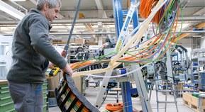 Reducerade monteringstider med färdiga släpkedjor från LAPP