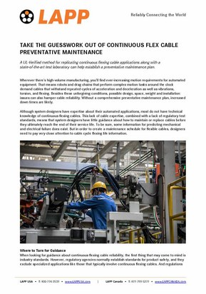 Preventative Maintenance September 2020 Page 1
