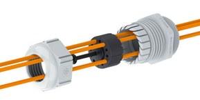 SKINTOP® FIBER nippel for fiberkabel