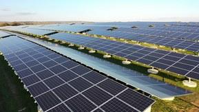 Österrikes största solcellsanläggning