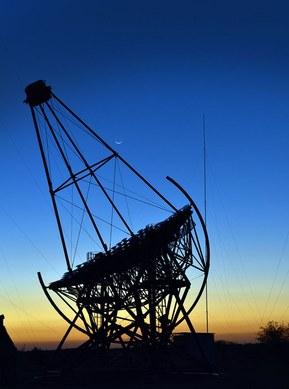 Оптоволоконные кабели для подвижного применения используются в телескопе HESS