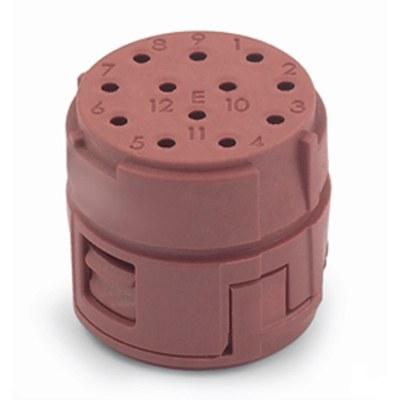 EPIC® SIGNAL M23 12-polig binnenwerk tbv Sub-D contacten (encoder toepassingen)