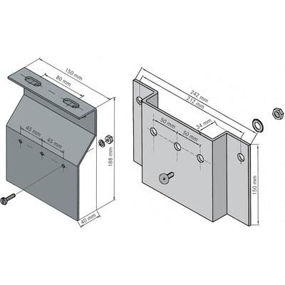 MP 18/28 Montageplatten