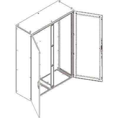 """EMP - """"EGO"""" Flexibla rostfria golvskåp, fristående eller för ihopbyggnad"""