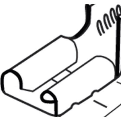 Flachsteckverbinder nicht isoliert