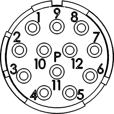 Вставки EPIC® M23, 12-пол.