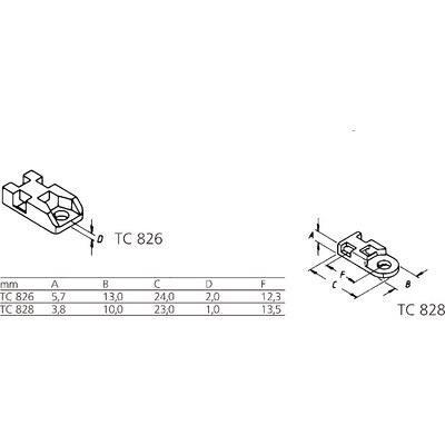 Binder-Schraub-Sockel