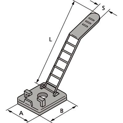 ULNY - регулируемые кабельные стяжки