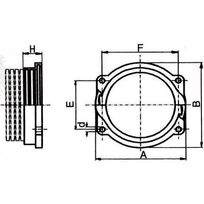 Anslutningar för slang NW52-95