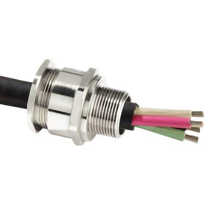 A2F Förskruvning, Ex d/Ex e, för oskärmad kabel