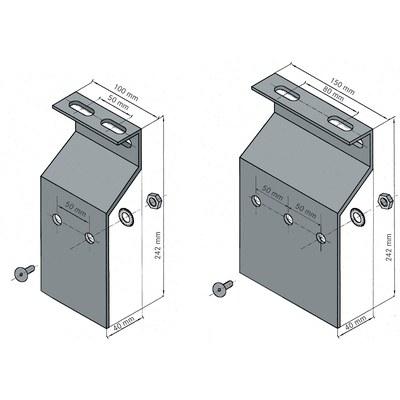 MP 11/13/12/14 Montageplatten