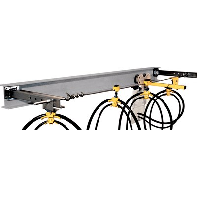 Cable trolley system steel wire