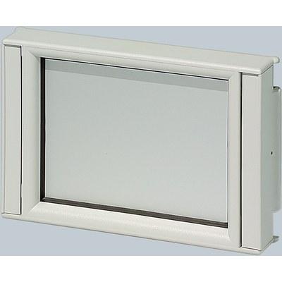 CombiCard II kapslingsdel front - Frontram öppen FO för frontplåt FP...AI