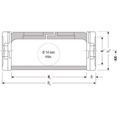 EASYTRAX 0320, innerhöjd 18 mm