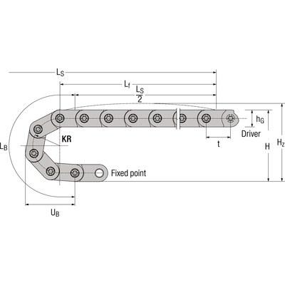 EASYTRAX 0115, innerhöjd 4,6 mm